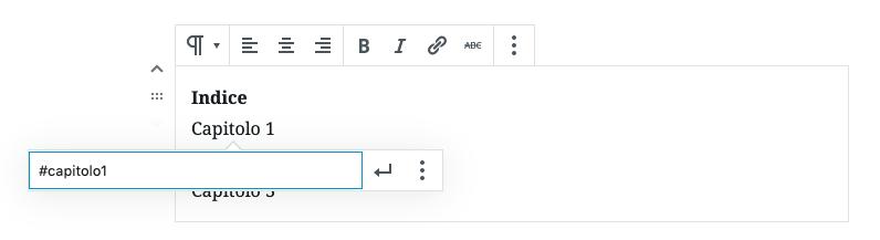 Vuoi creare link/collegamenti all'interno della stessa pagina su WordPress? Ecco come fare